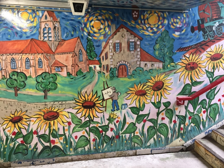local art in Auvers